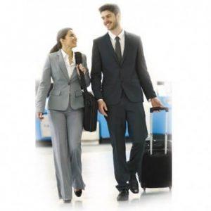 Kompresijske dokolenke za potovanja in delo